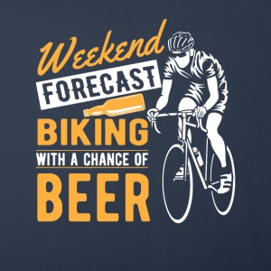 Weekend forecast biking with a chance of beer