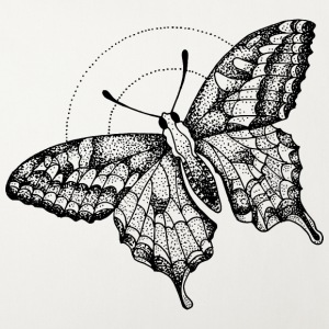 butterfly Night - Sofaputetrekk 44 x 44 cm