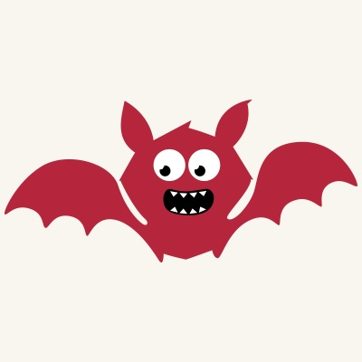 Funny Vampire / Bat (Monster Style)