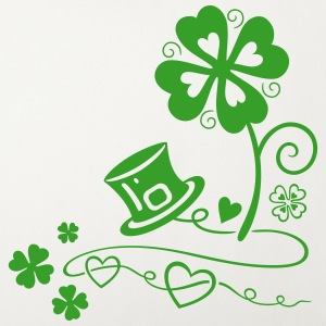 St. Patrick's Day. Shamrocks with hearts. Irish.