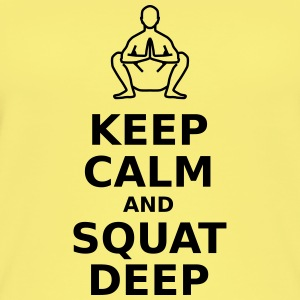 Keep calm and squat deep - Women's Organic Tank Top