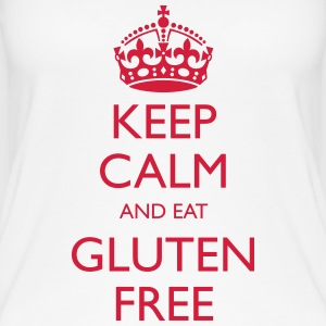 Keep Calm And Eat Gluten Free - Women's Organic Tank Top by Stanley & Stella