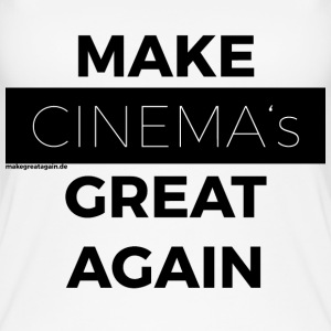 MAKE CINEMAS GREAT AGAIN black - Women's Organic Tank Top