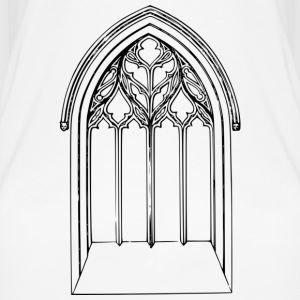 Church window - Women's Organic Tank Top by Stanley & Stella