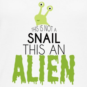 Alien / Area 51 / UFO: This Is Not A Snail. this - Women's Organic Tank Top