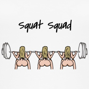 Squat squad - Women's Organic Tank Top by Stanley & Stella