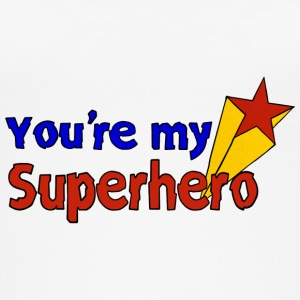 you're my superhero - Frauen Bio Tank Top von Stanley & Stella