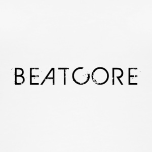 Beatcore Shirt White - Women's Organic Tank Top