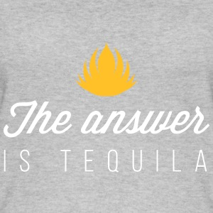The Answer Is Tequila - Women's Organic Tank Top