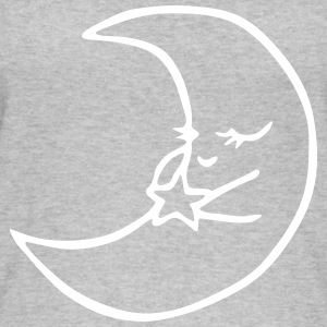 Moon with star - Women's Organic Tank Top