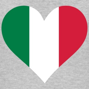 A Heart For Italy - Women's Organic Tank Top by Stanley & Stella