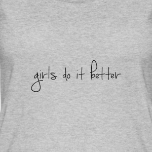 Girls do it better - Women's Organic Tank Top