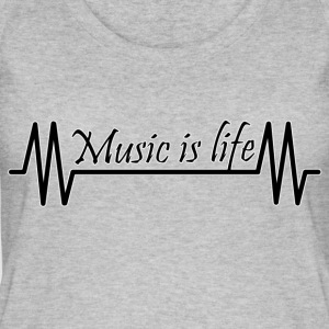 Music is life - Women's Organic Tank Top by Stanley & Stella