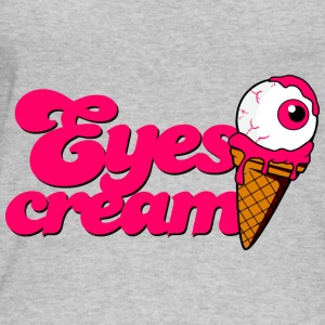 Eyescream Ice Cream Cone with Eye Eyeball Halloween - Women's Organic Tank Top by Stanley & Stella