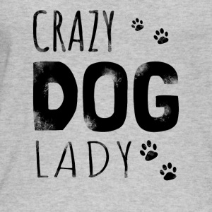 Crazy Dog Lady - dog gift - Women's Organic Tank Top by Stanley & Stella