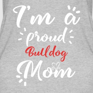 Bulldogge shirt for proud Bulldoggenmama - Women's Organic Tank Top by Stanley & Stella