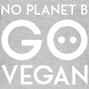NO PLANET B GO VEGAN white - Frauen Bio Tank Top von Stanley & Stella