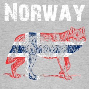 Nation-Design Norway Wolf - Women's Organic Tank Top by Stanley & Stella