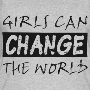 Girls change the world - Women's Organic Tank Top by Stanley & Stella