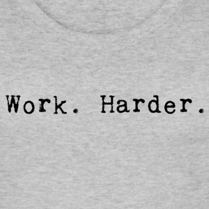 werk harder_black - Vrouwen bio tank top