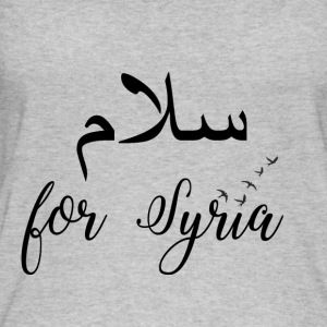 Peace for Syria - Frauen Bio Tank Top von Stanley & Stella