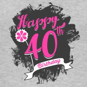40 Birthday - Congratulations gift - Women's Organic Tank Top