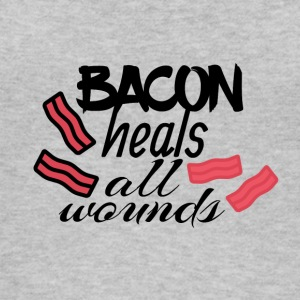 Bacon heals everything - Women's Organic Tank Top by Stanley & Stella