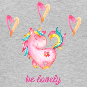 be lovely - Unicorn Einhorn Einhörner Fabelwesen - Frauen Bio Tank Top