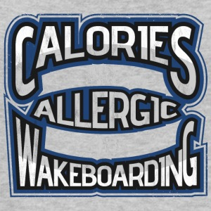 Calories are allergic to wakeboarding 2 - Women's Organic Tank Top by Stanley & Stella