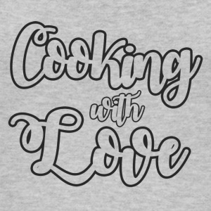Cook / Chef: Cooking With Love - Vrouwen bio tank top