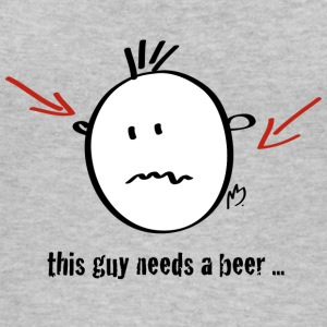 this guy needs a beer - Frauen Bio Tank Top von Stanley & Stella