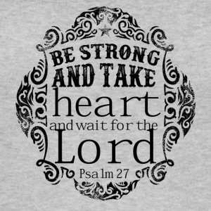 Be Strong and Waite The Lord - Women's Organic Tank Top by Stanley & Stella