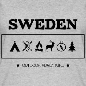Sweden Outdoor Adventure Symbols - Women's Organic Tank Top