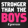 Stronger than the Boys - Frauen Bio Tank Top von Stanley & Stella