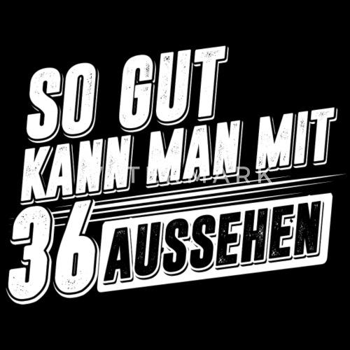 Geburtstag Birthday 36 Jahre Geburtstagsgeschenk Von Kaizendesigns