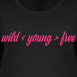 wild young free - Women's Organic Tank Top by Stanley & Stella
