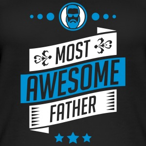 Most Awesome father - fathers day - Women's Organic Tank Top