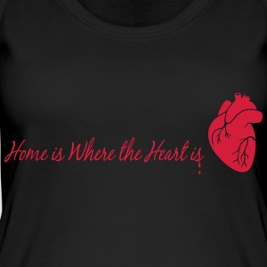 home is where the heart is - Frauen Bio Tank Top