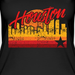 Houston Baseball Throwback Astro Stripe - Débardeur bio pour femmes