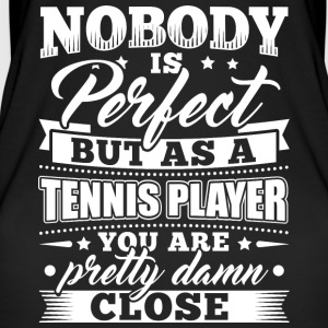 Funny Tennis Player Shirt Nobody Perfect - Frauen Bio Tank Top von Stanley & Stella