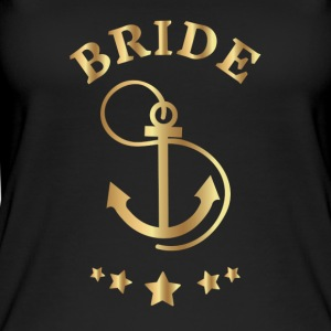 Bride Anchor Design - Women's Organic Tank Top by Stanley & Stella