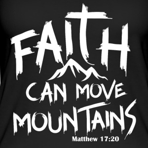 Faith can move mountains - Women's Organic Tank Top by Stanley & Stella