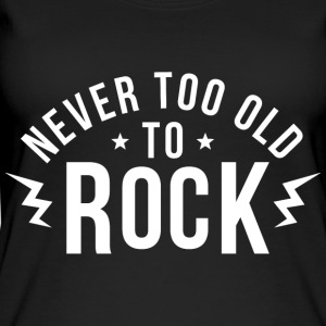 Never too old to rock - Women's Organic Tank Top