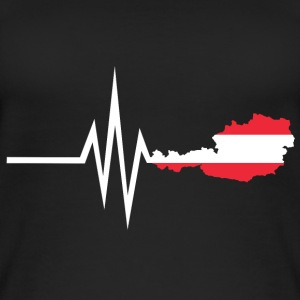 My heart beats for Austria - home country - Women's Organic Tank Top