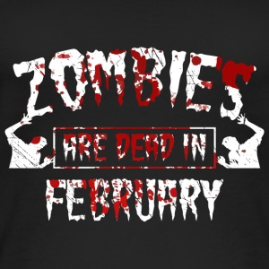 Zombies are dead in february - Birthday Birthday - Women's Organic Tank Top