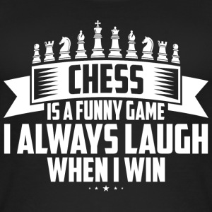 CHESS IS A FUNNY GAME - Women's Organic Tank Top by Stanley & Stella