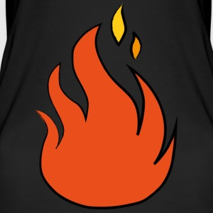 fire - Women's Organic Tank Top by Stanley & Stella