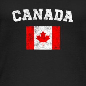 Canadian Flag Shirt - Vintage Canada T-Shirt - Women's Organic Tank Top by Stanley & Stella
