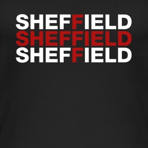 Sheffield United Kingdom Flag Shirt - Sheffield - Women's Organic Tank Top by Stanley & Stella