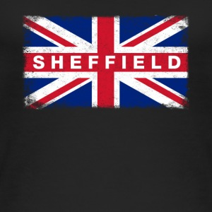 Sheffield Shirt Vintage United Kingdom Flag - Women's Organic Tank Top by Stanley & Stella